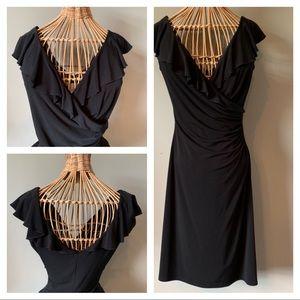 White House Black Market Black Sleeveless Dress
